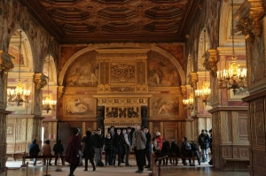Salle de bal au Château de Fontainebleau