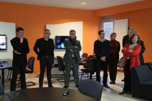 Inauguration de la salle collaborative - Jeudi 19 mars 2015