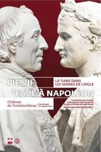 """Affiche de l'exposition """"Pie VII face à Napoléon"""""""